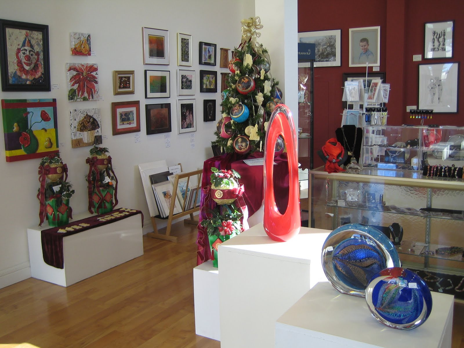 Art on display at the VAAM Gallery.